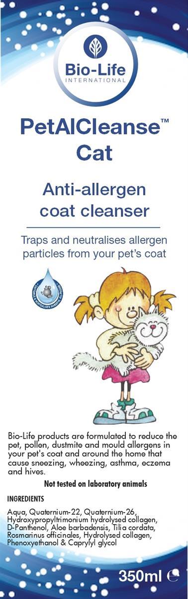 Petal Cleanse C Katt (allergihemmende)