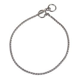 """Ring 5 utstillingskjetting """"Hexagon sølv"""" Ex. Fin 40cm"""