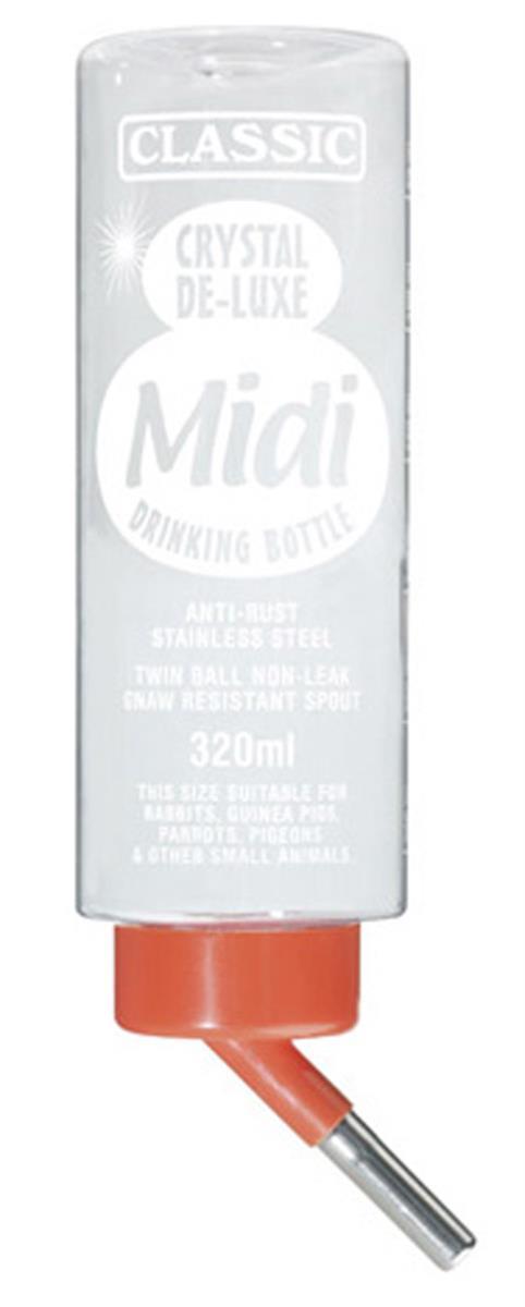 Drikkeflaske classic midi 320ml