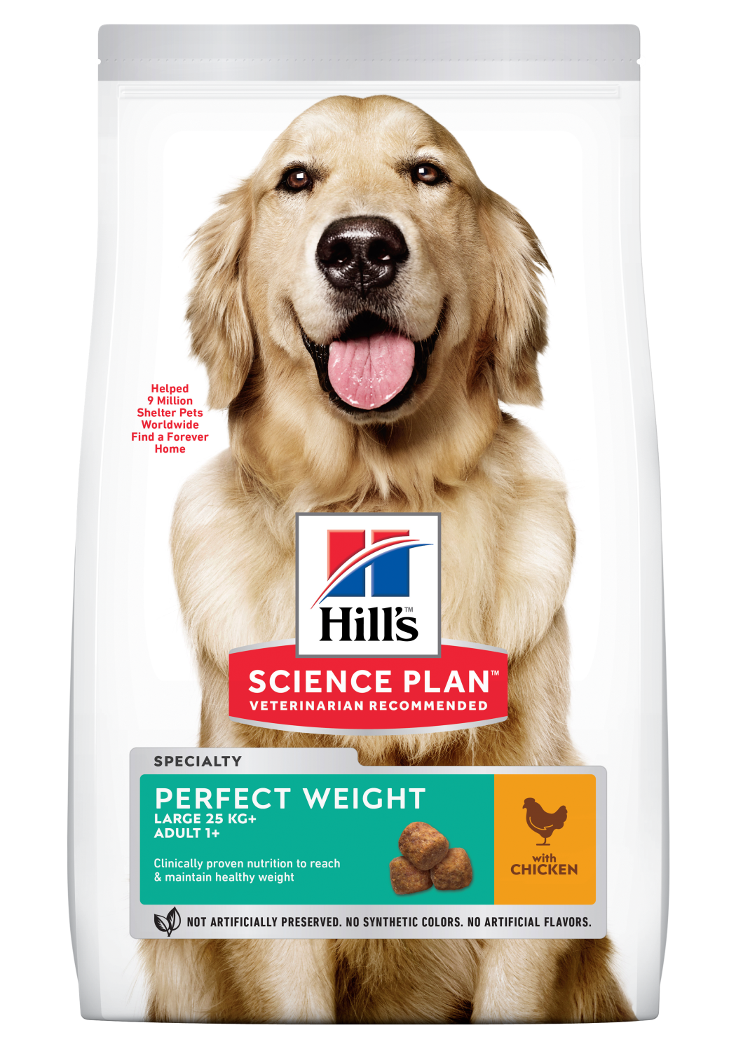 Hills Canine adult perfect weight large 12kg