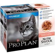 Pro plan våtfor katt housecat 10x85g laks