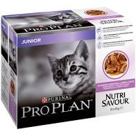 Pro plan våtfor katt junior 10x85g kalkun