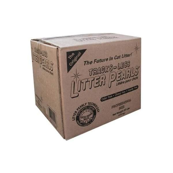 Litter pearls track-less 18,6L(20lbs- 9,07kg)