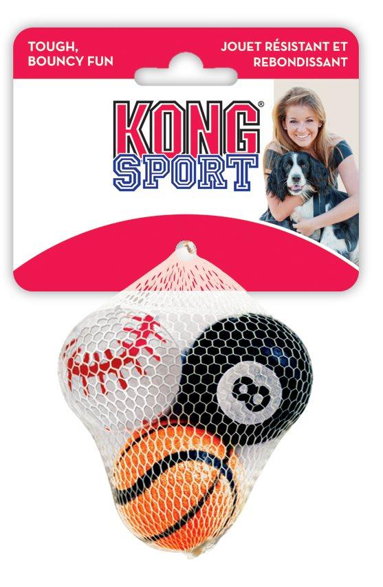 Kong sport tennis ball XS 3pk