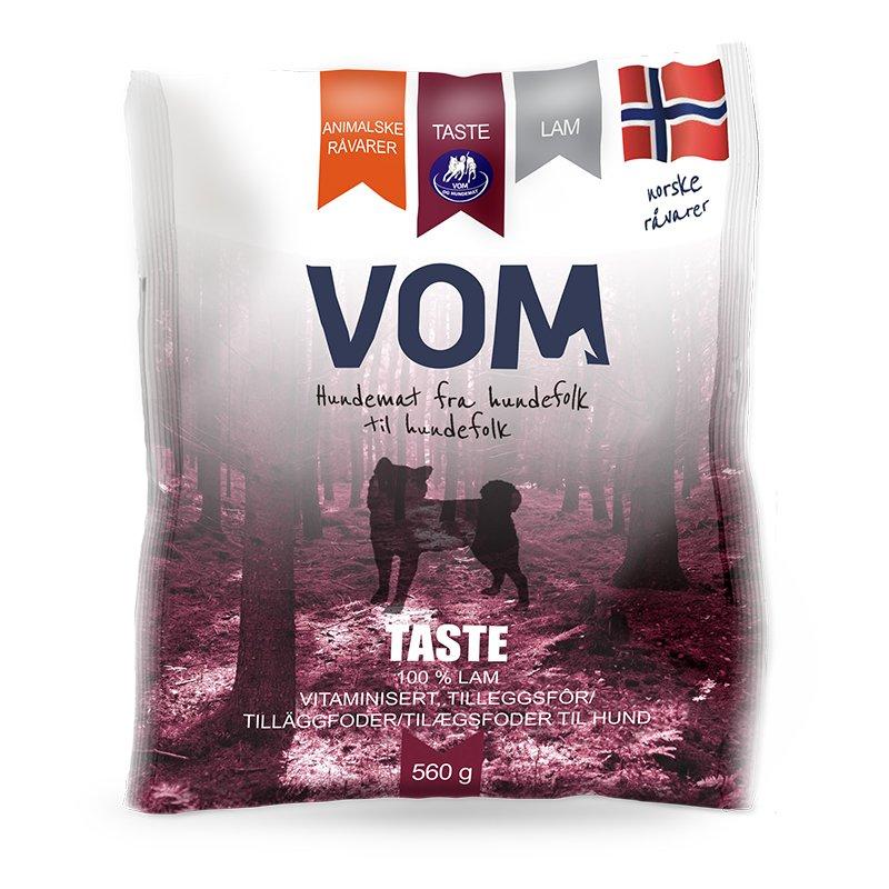Vom & hundemat kjøttboller Taste Lam 560g