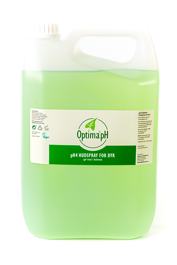 Optima Hudspray for dyr 5 liter