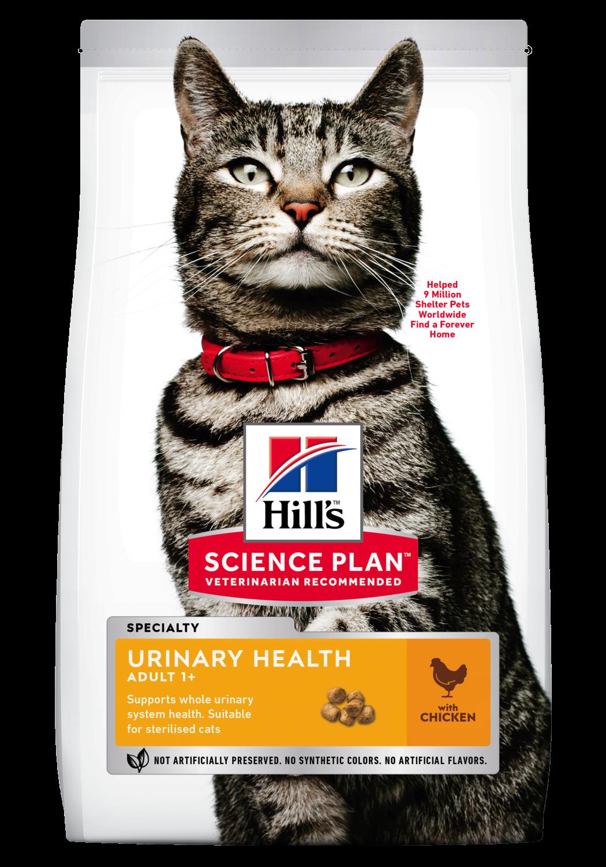 Hill's Feline adult urinary health sterilised 3kg