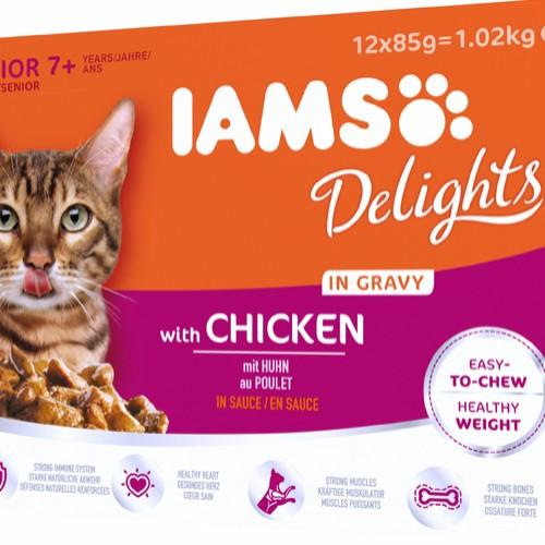 Iams Delight Chicken senior collection