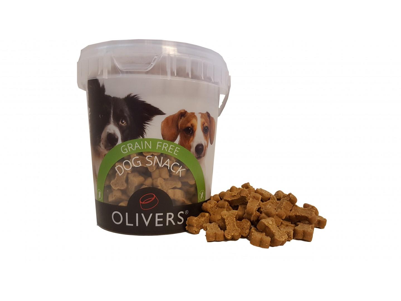 Olivers godbiter kornfri med and 500g