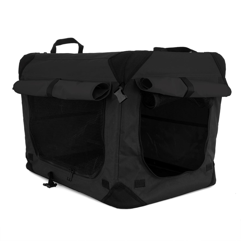 Canvasbur Milou XL svart 81,5x58,5x58,5cm,