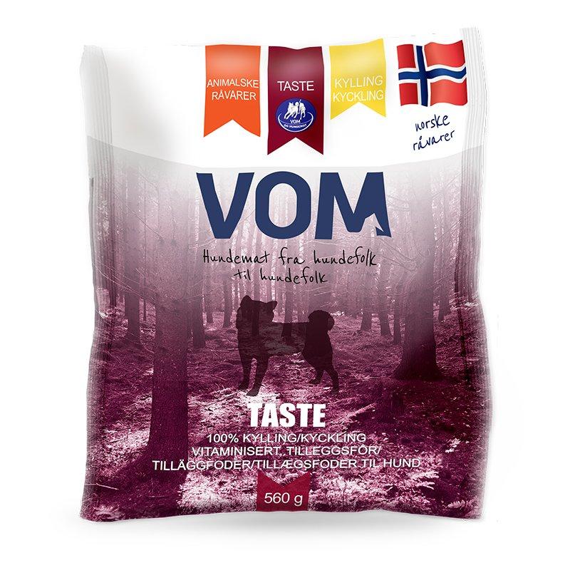 Vom & hundemat kjøttboller Taste Kylling 560g