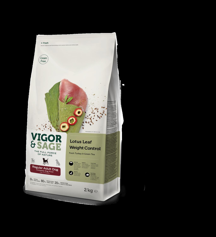 Vigor & sage Lotus leaf weight control adult 2kg
