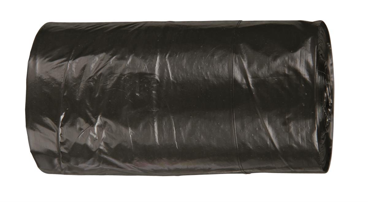 Bæsjeposer sort 24stk
