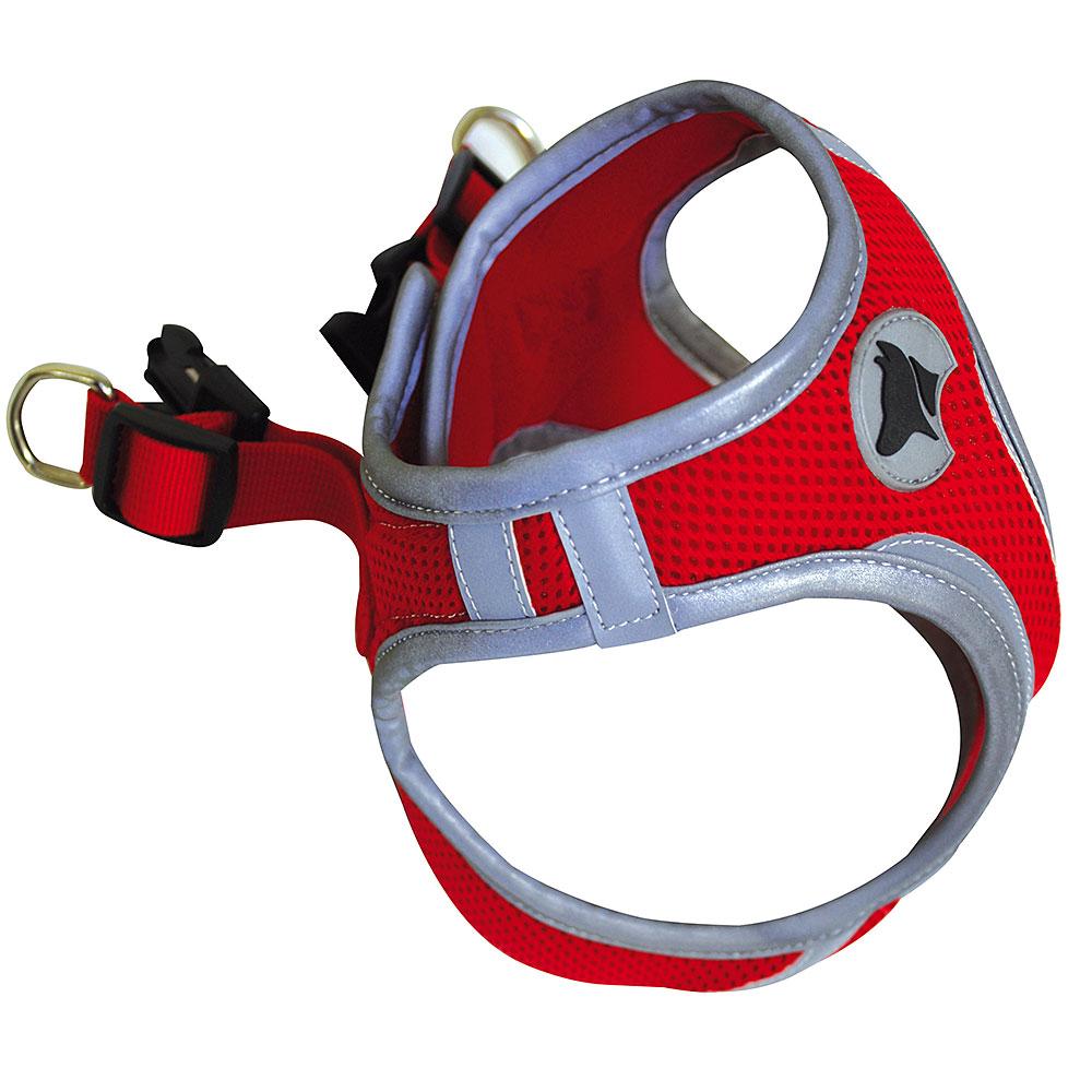 Hiking Harness refleks rød M