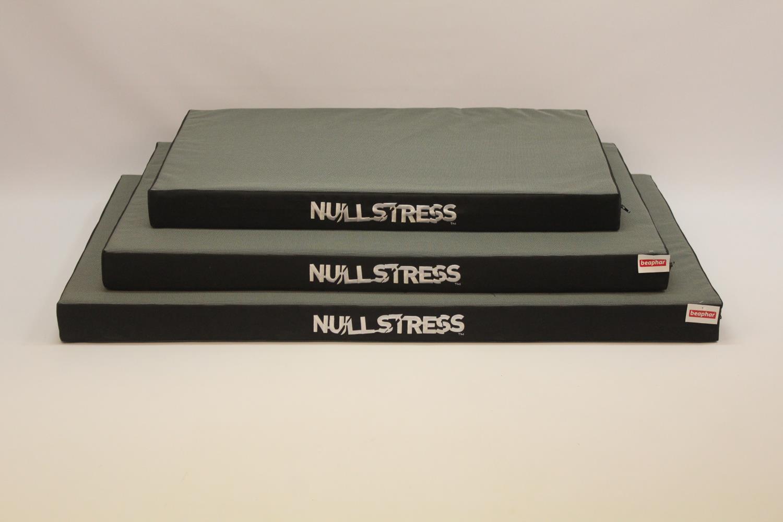Null stress burpute grå/svart nr 6 123x75x7,5cm