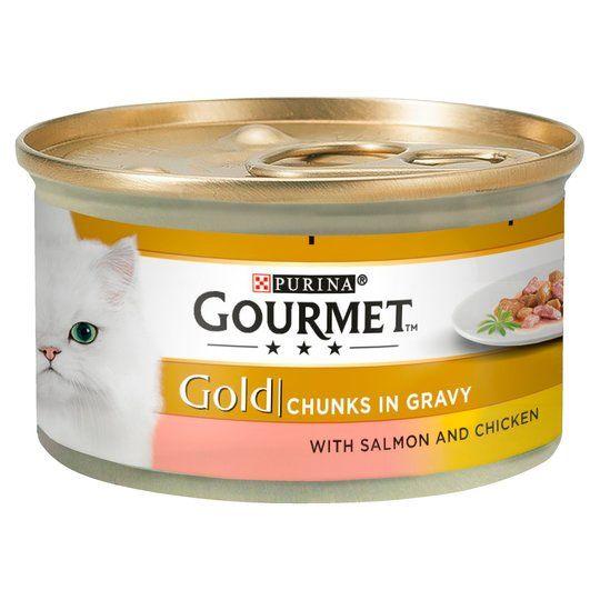 Gourmet Gold Laks og Kylling 85g