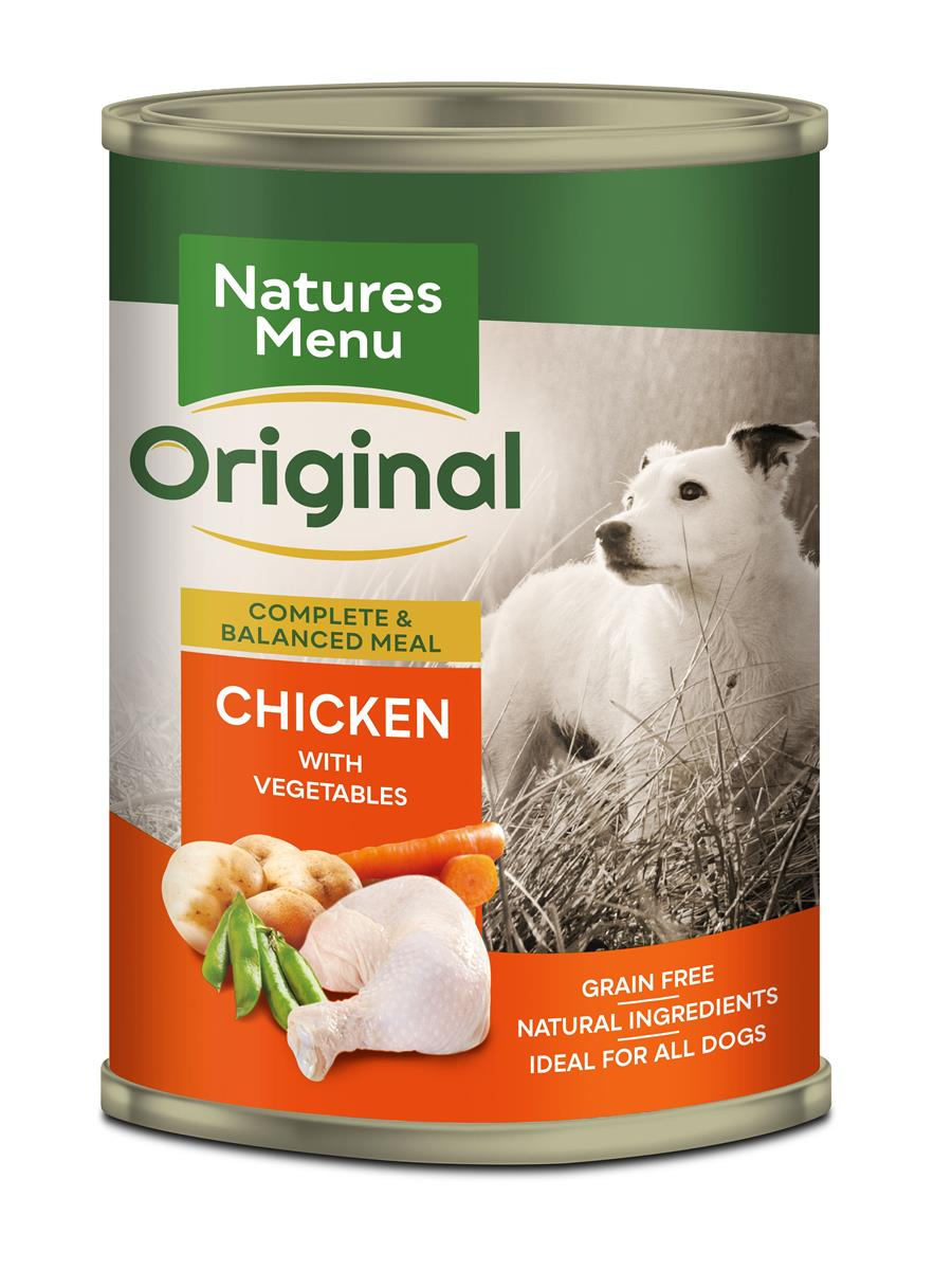 Natures menu NM Boksmat hund med kylling 400gr