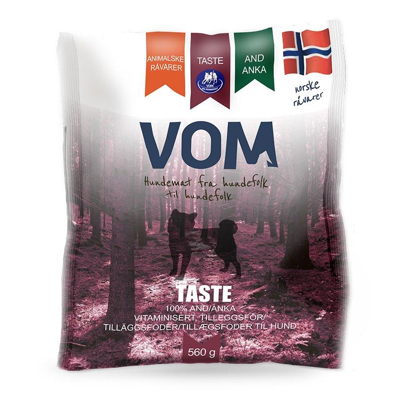 Vom & hundemat kjøttboller Taste and 560g