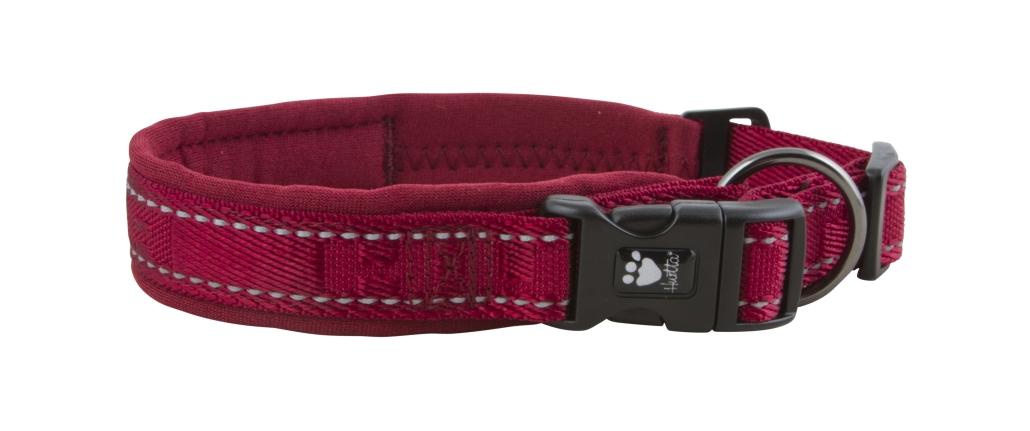 Hurtta halsbånd casual 25-35cm rød