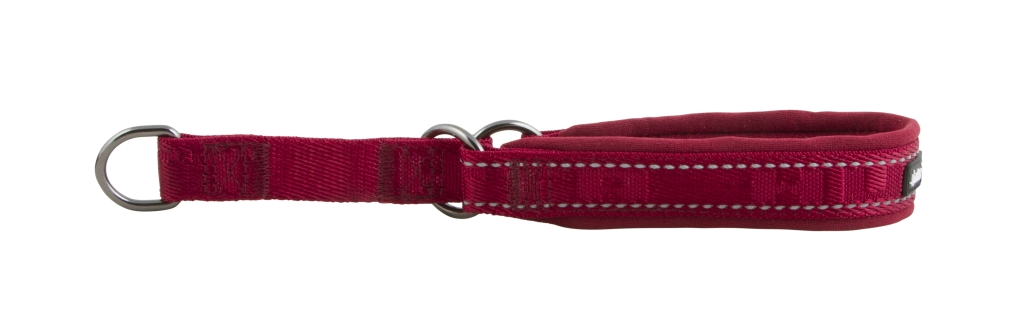 Hurtta halvstrup casual 25-35cm rød