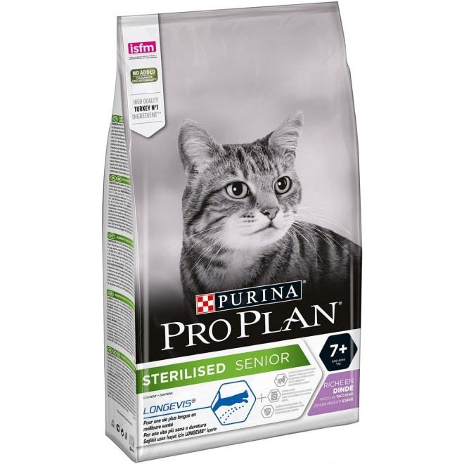 Pro plan Sterilised +7 kalkun 1,5kg