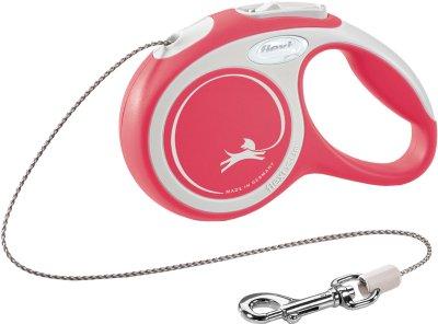 Flexi New Comfort XS 3m cord rød