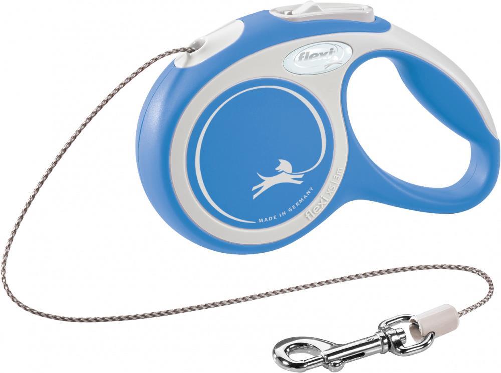 Flexi New Comfort XS 3m cord blå