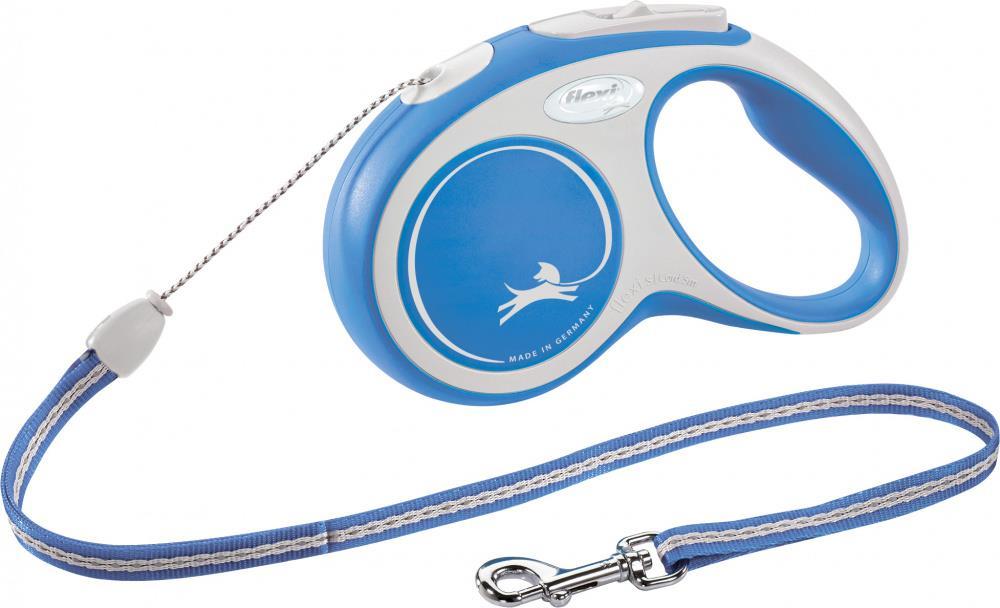 Flexi New Comfort M 8m cord blå