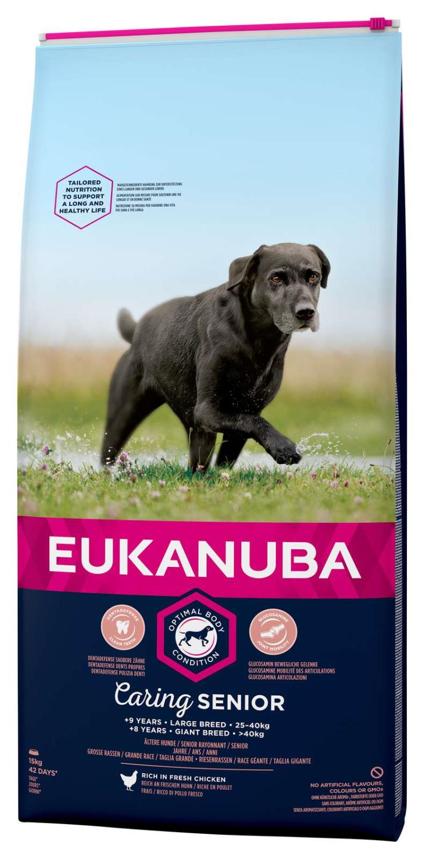 Eukanuba Caring senior Large breed 15kg
