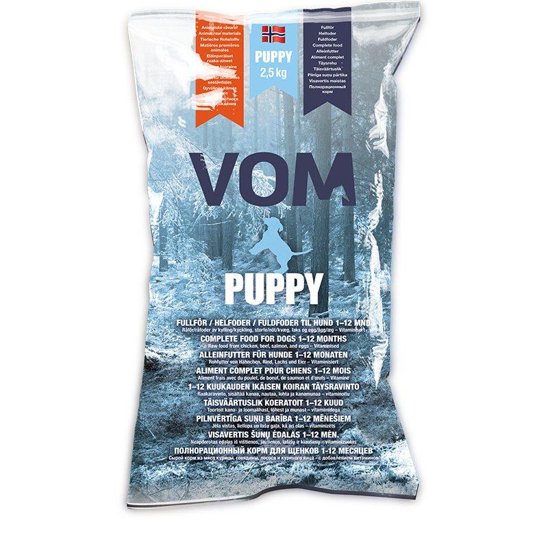 Vom & Hundemat kjøttboller puppy 2,5kg