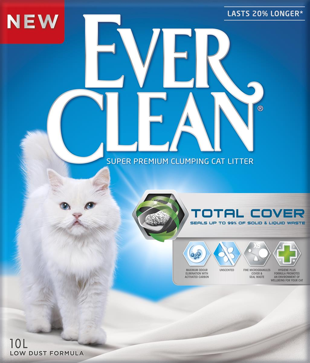 Ever Clean kattesand Total Cover 10L