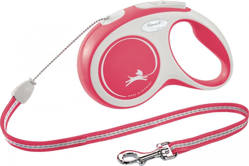 Flexi New Comfort S 8m cord rød