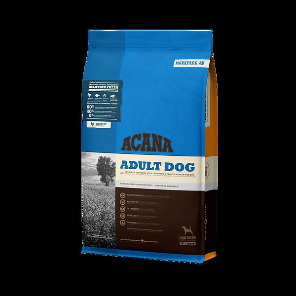 Acana adult dog Hertiage 11,4kg