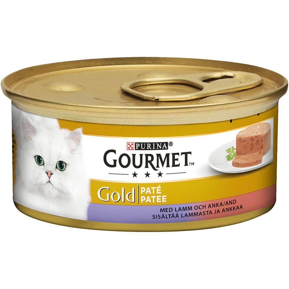 Gourmet Gold Lam og and i patê 85g