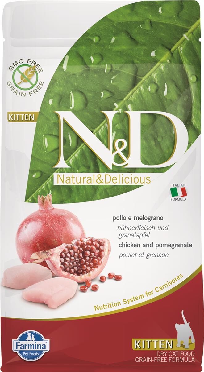 Farmina N&D cat chicken & pomegranate kitten 1,5kg