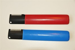 Trimmekniv blå medium