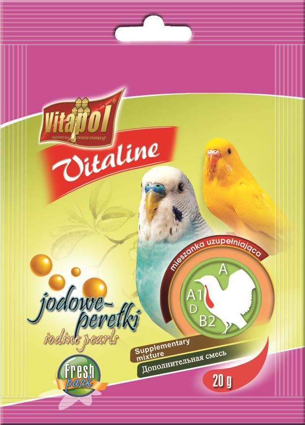 Vitapol Jodperler undulat 10g