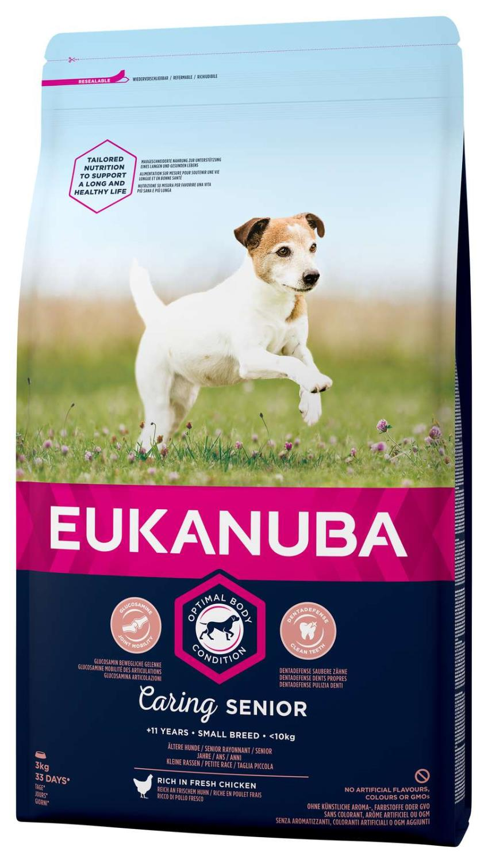 Eukanuba Caring Mature Small 3kg