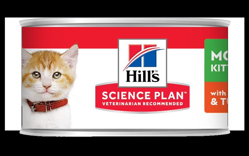 Hill's Kitten mousse kylling & kalkun 82g
