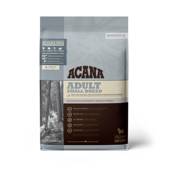 Acana Adult small breed hertiage 6 kg