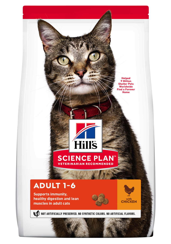 Hill's Feline adult chicken 3 kg