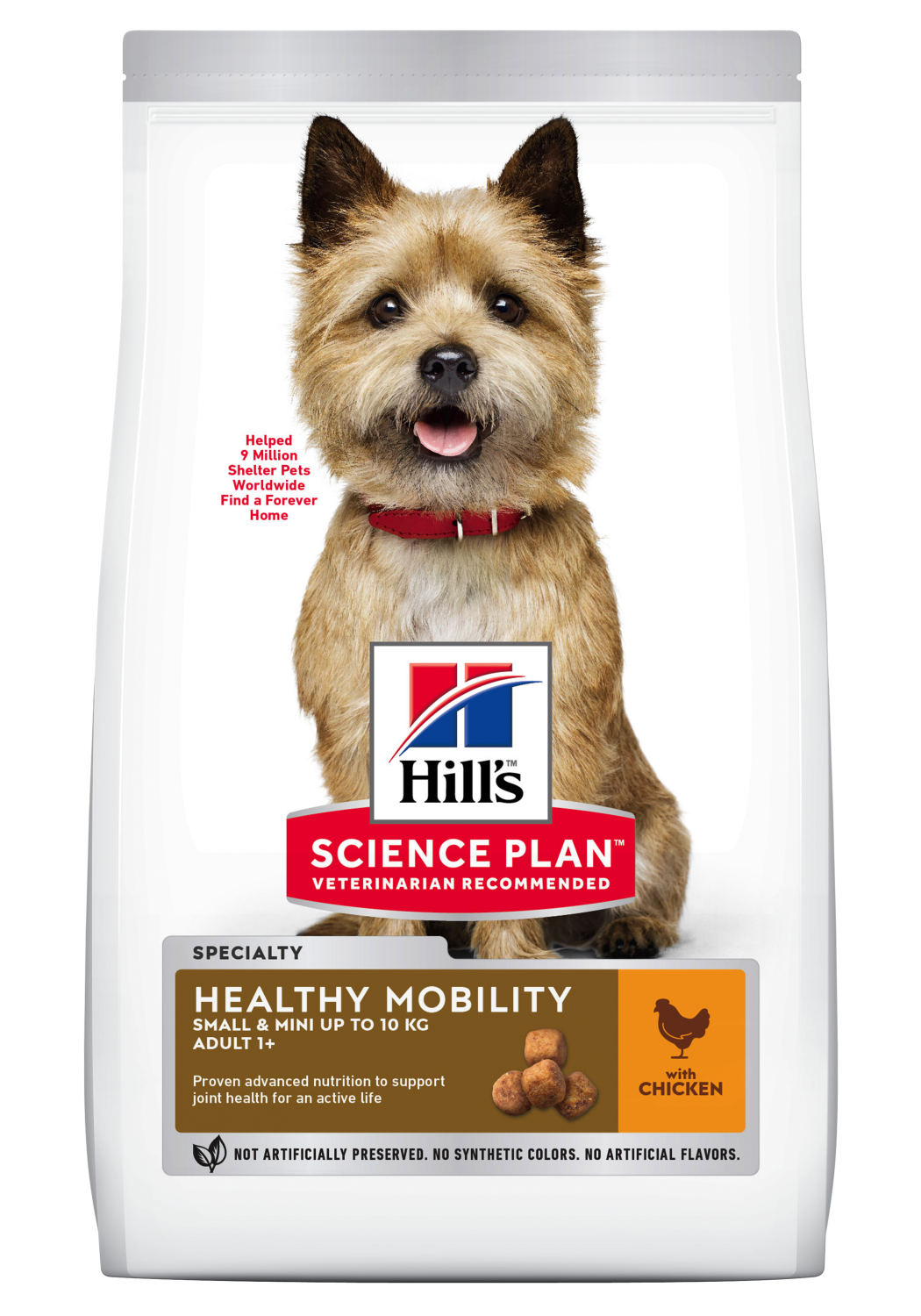 Hill's Healthy mobility Small & mini 1,5kg