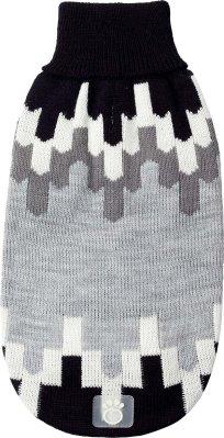 Go Fresh Pet strikket genser blackcomb svart L 46cm