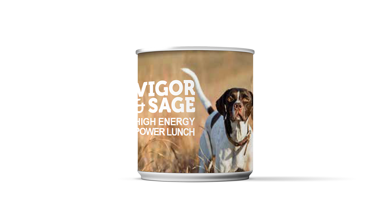 Vigor & Sage High energy power lunch 185gr boksmat