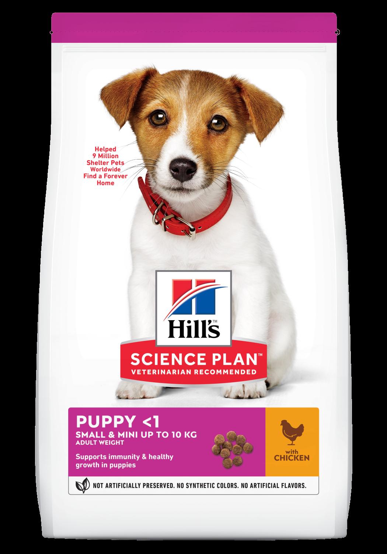Hill's Puppy Small & Mini chicken 3 kg