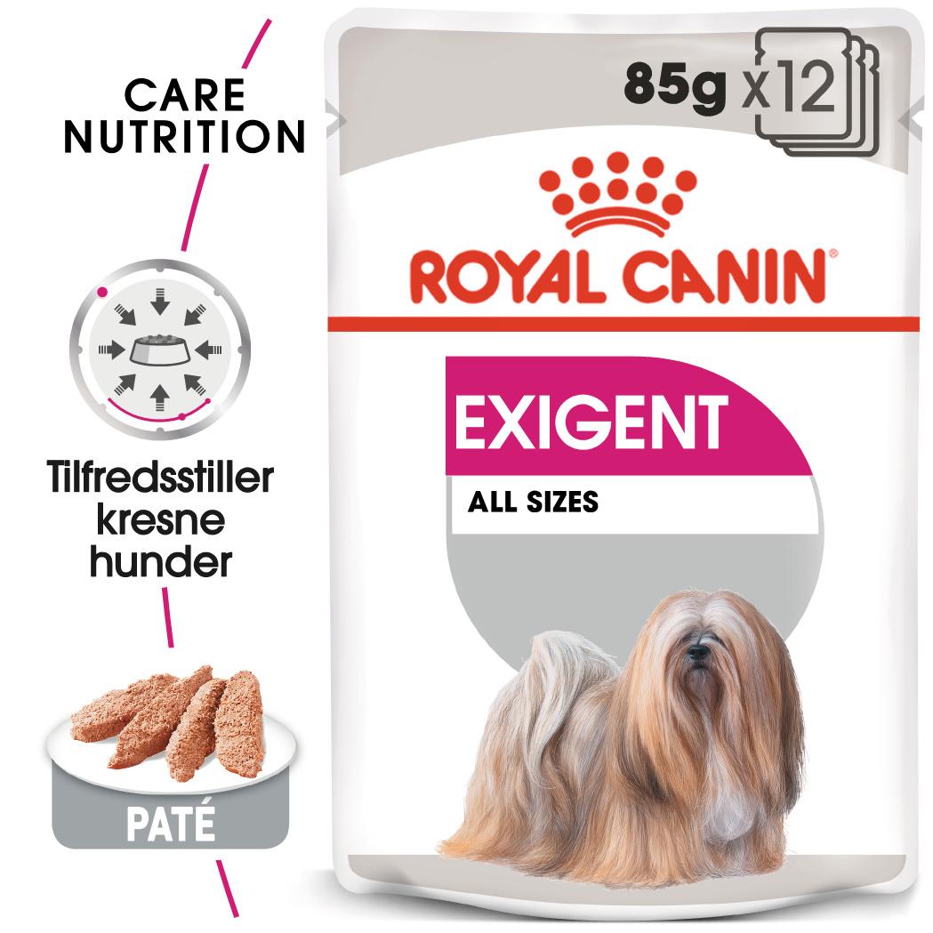Royal Canin Exigent våtfor hund 12x85gr