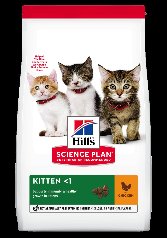 Hill's feline Kitten chicken 3 kg