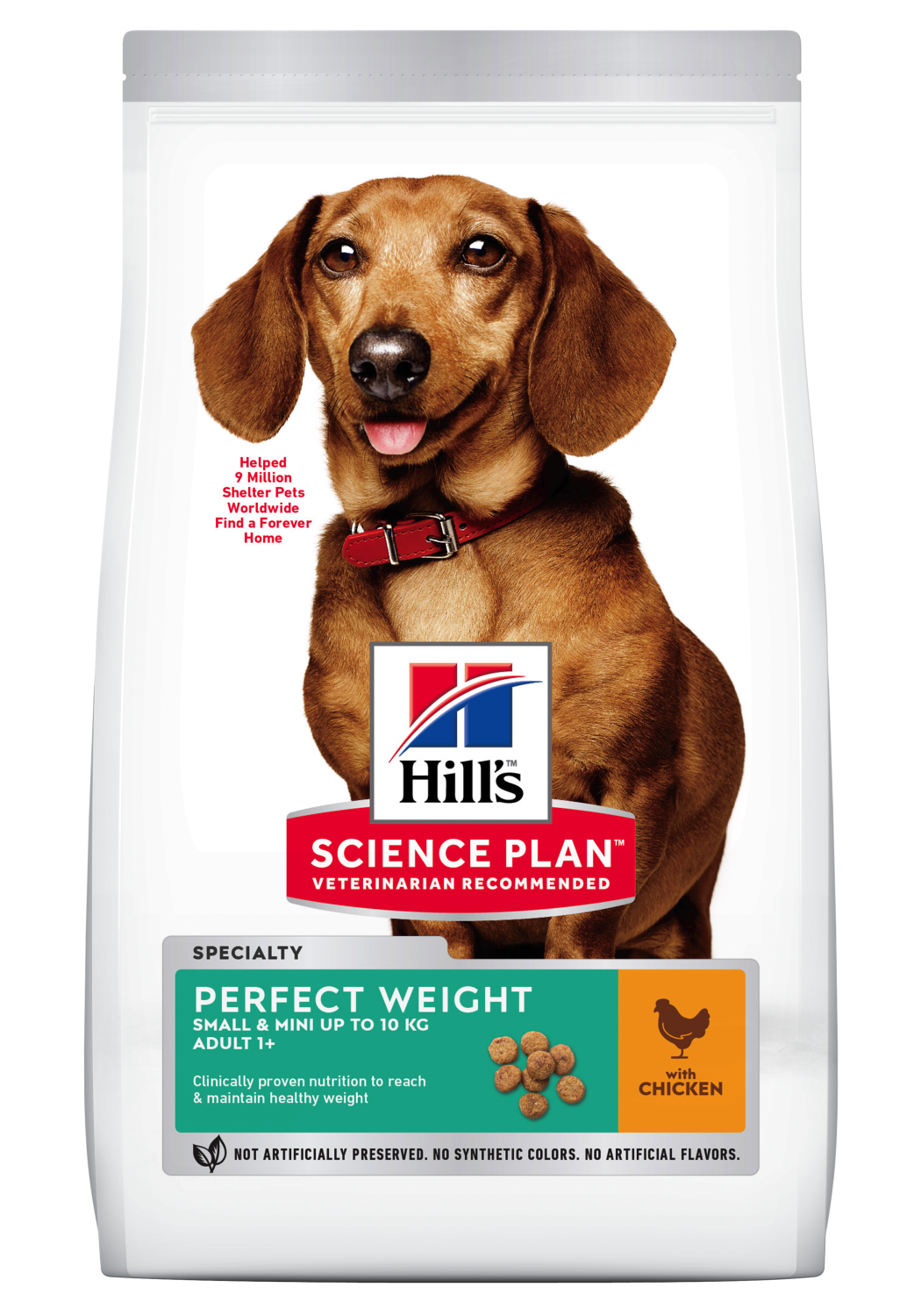 Hill's Perfect weight Small & mini 1,5 kg