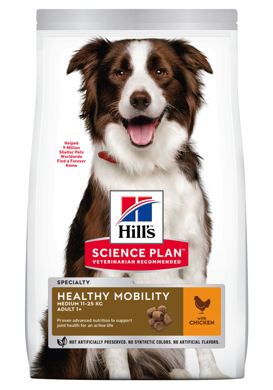 Hill's Canine Adult Healthy Mobility Medium 2,5 kg
