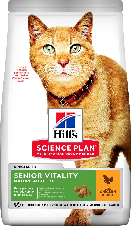 Hill's Feline Senior vitality katt 7 kg